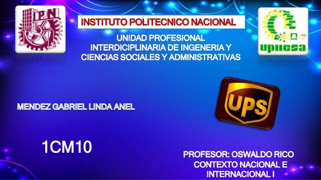 INSTITUTO POLITECNICO NACIONAL UNIDAD PROFESIONAL INTERDICIPLINARIA DE INGENERIA Y CIENCIAS SOCIALES Y ADMINISTRATIVAS PRO...