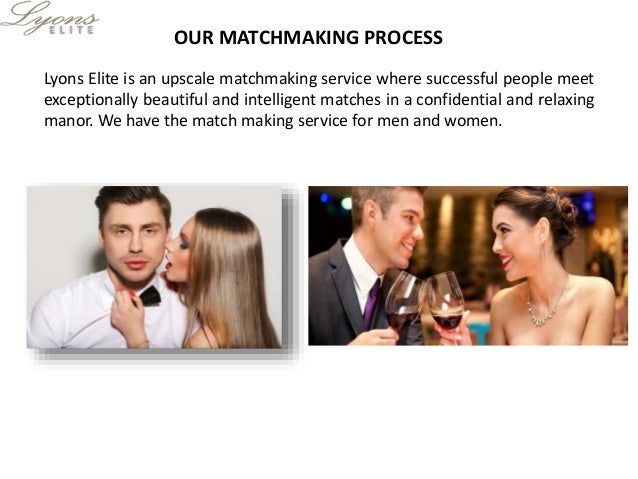 Elite matchmaking services