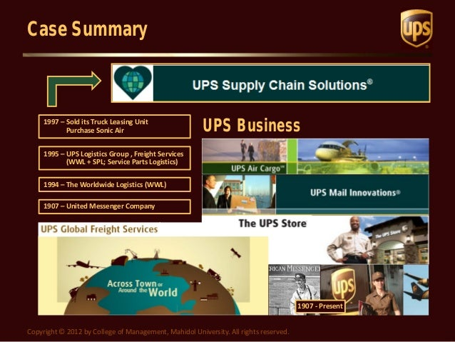 fedex vs ups case study analysis Fedex vs ups by recomparison that isn't the case with me, fedex doesn't unserstand the word fragile gross vs net: successful analysis.