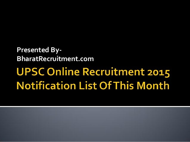 Presented By- BharatRecruitment.com