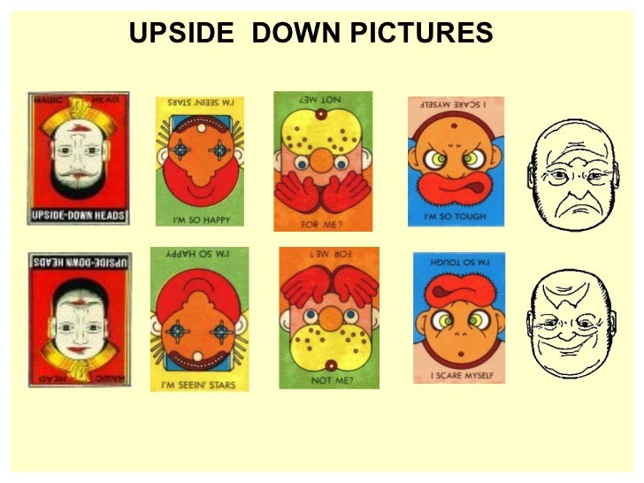 <ul><li>UPSIDE  DOWN PICTURES </li></ul>