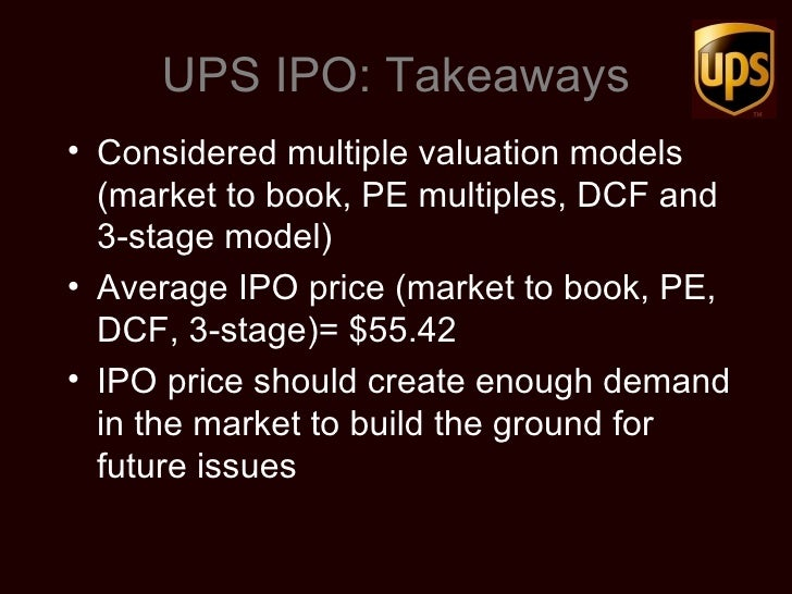 upss ipo In today's fast-paced business atmosphere, companies are growing at a lightning -fast speed almost overnight, startups are emerging into multinational.