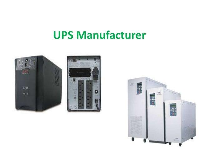 UPS Manufacturer