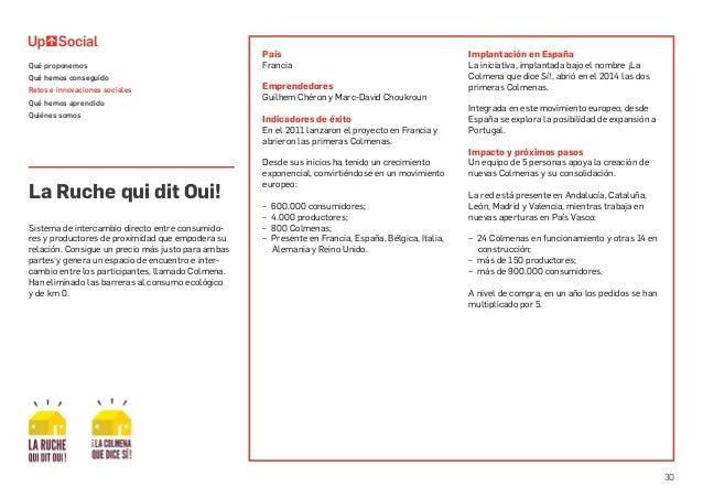 30 País Francia Emprendedores Guilhem Chéron y Marc-David Choukroun Indicadores de éxito En el 2011 lanzaron el proyecto e...