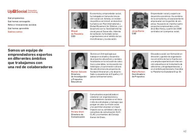 42 Somos un equipo de emprendedores expertos en diferentes ámbitos que trabajamos con una red de colaboradores Economista ...