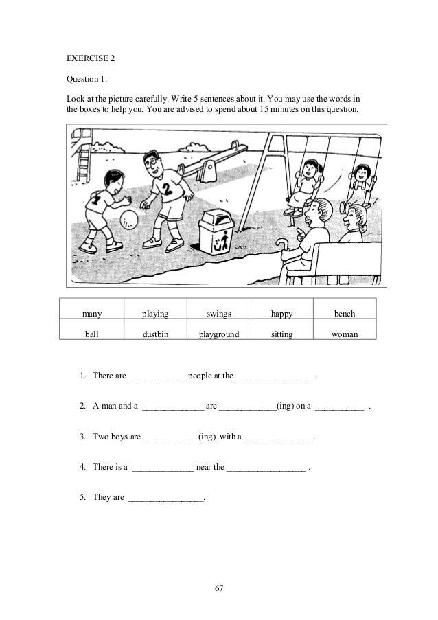Upsrenglish paper2-section1-worksheetsforweakerpupils