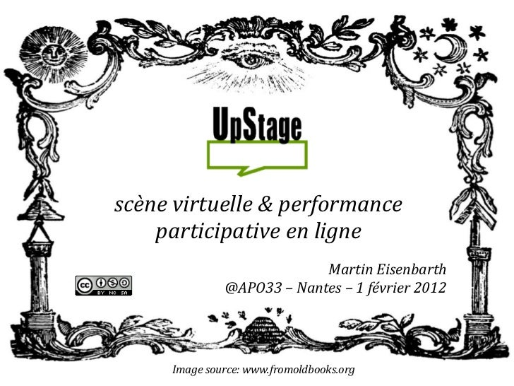scène virtuelle & performance    participative en ligne                           Martin Eisenbarth              @APO33 – ...