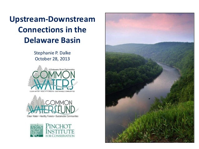 Upstream-Downstream Connections in the Delaware Basin Stephanie P. Dalke October 28, 2013