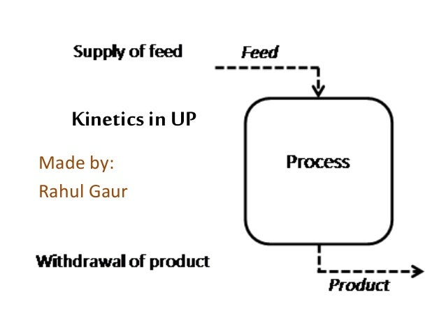 Chemical Kinetics in Unit Processes