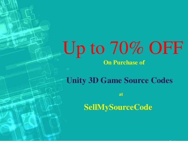 Up to 70% off on purchase of unity 3 d games source codes sellmysou…
