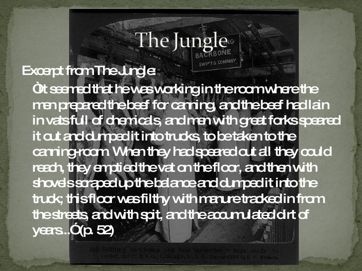 the depiction of the society in the jungle by upton sinclair Upton sinclair's book the jungle remains an inspiration to journalists  summarizing the part bell had played in the building of an increasingly interconnected society, the new york.