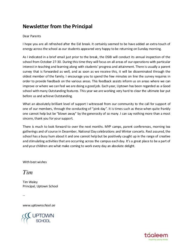 letter to school principle   Hadi.palmex.co