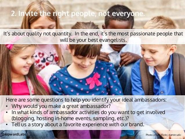 how to start a brand ambassador program