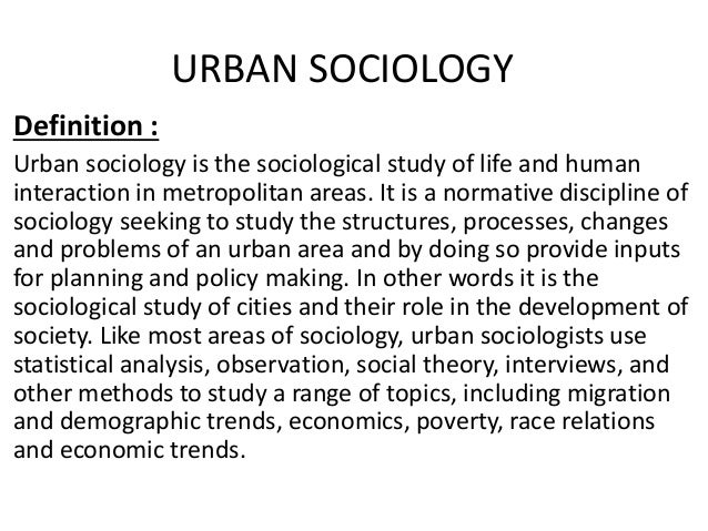 Chicago school (sociology)