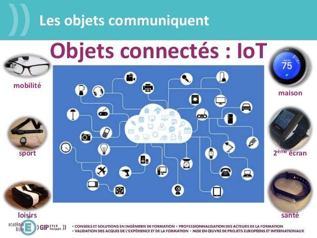 maison 2ème écran santé mobilité sport loisirs Objets connectés : IoT Les objets communiquent