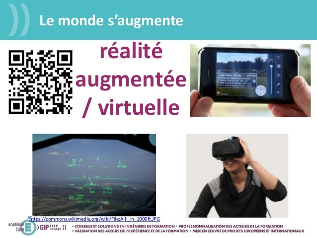 Le monde s'augmente https://commons.wikimedia.org/wiki/File:AIII_in_1000ft.JPG réalité augmentée / virtuelle