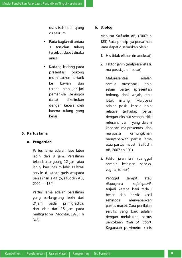 Partus lama adalah pdf download