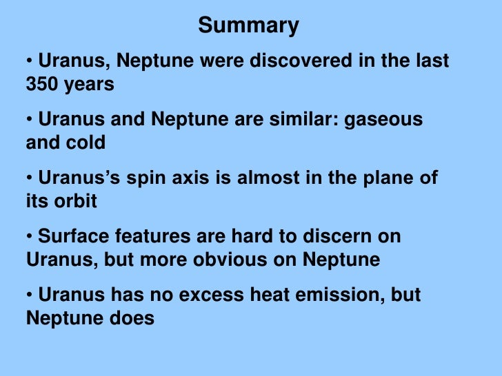 neptune summary