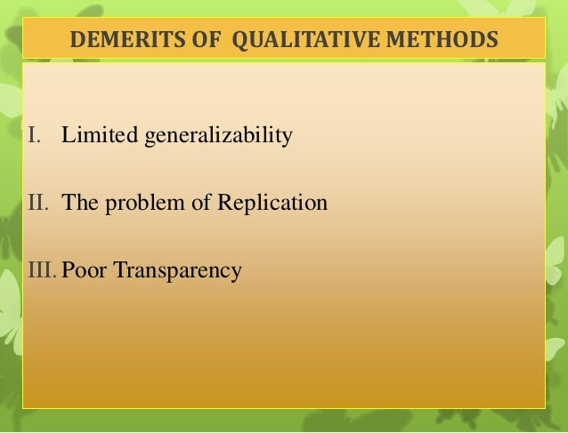 merits and demerits of modern methods What are the advantages and disadvantages of modern  disadvantages of modern agriculture  i read a great deal of stuff and i found that the method for.