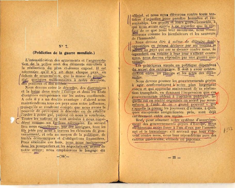 urbain gohier protocoles des sages d israel la vieille france 1925