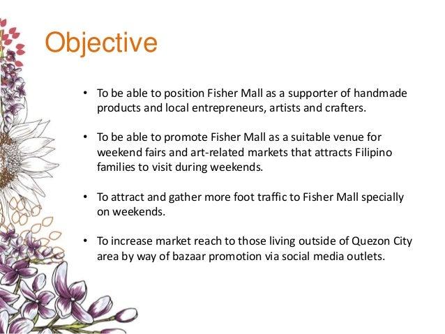 Urban Arts & Craft Fair Sample Proposal
