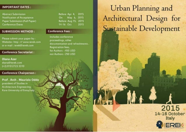 Urban Planing And Archetictural Design For Sustainable Design