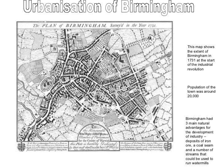 Industry In Birmingham Map Browse Info On Industry In