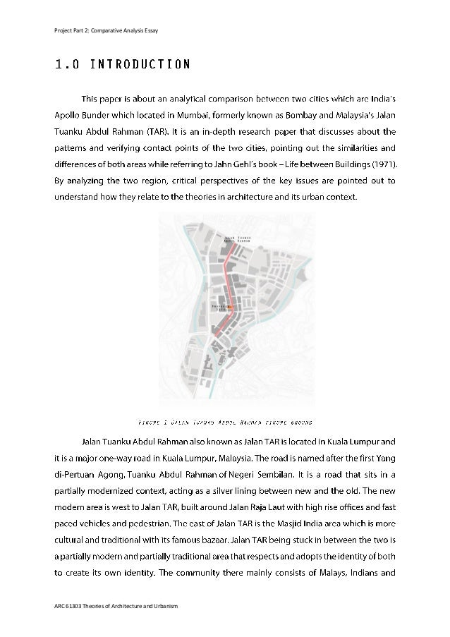urban comparative essays project part 2 comparative analysis essay arc 61303 theories of architecture and urbanism 3