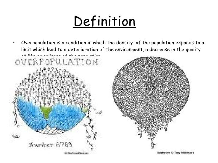 disadvantages of overpopulation in india Advantages and disadvantages of a high population density are below.
