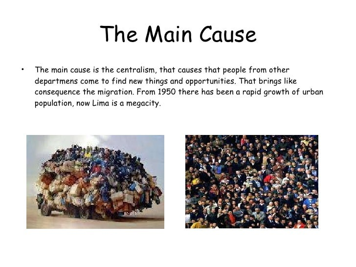 Overpopulation the underlying cause of most