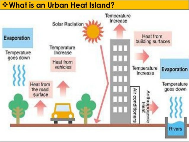 explain how urban heat islands develop Urban heat island (uhi) has become a growing concern to the quality of densely built urban environments, particularly in tropical cities wind speed has widely been reported to have decreased the.