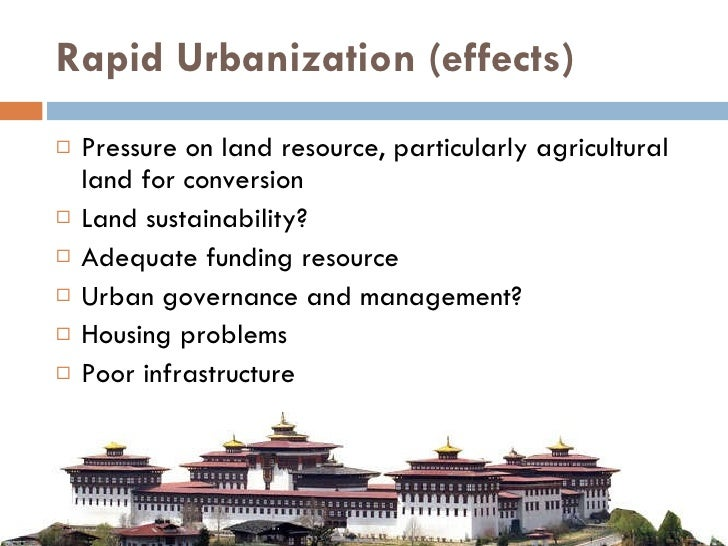 5 Major Problems of Urbanization