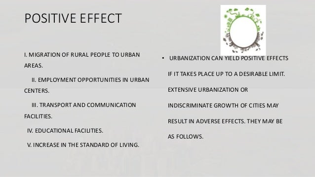 effects of migration into cities Rural-to-urban migration associated with negative environmental effects in chinese cities  to take into account other variables that may influence the urban environment, including population .
