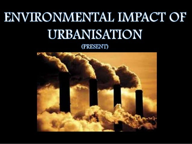 URBANISATON Urbanisation is the physical growth of urban areas which result in rural migration and even suburban concentra...