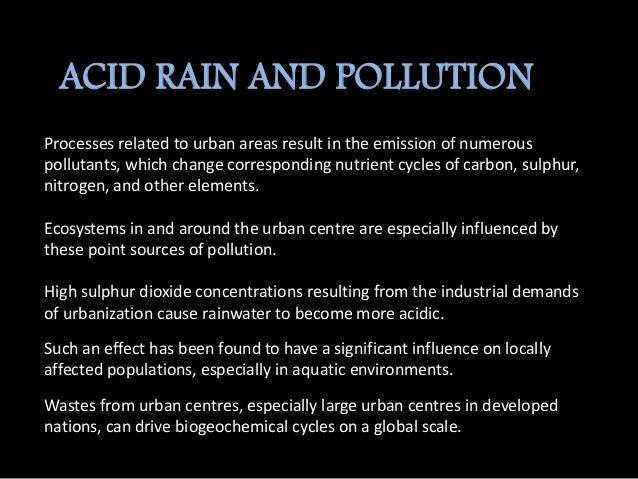Urbanisation(ecology)