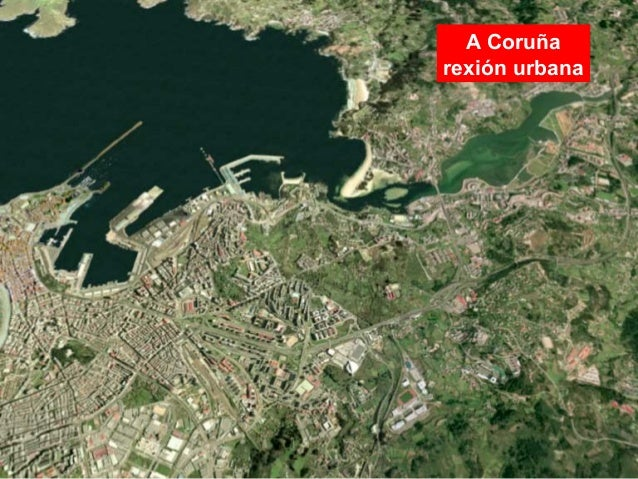 A Coruña rexión urbana