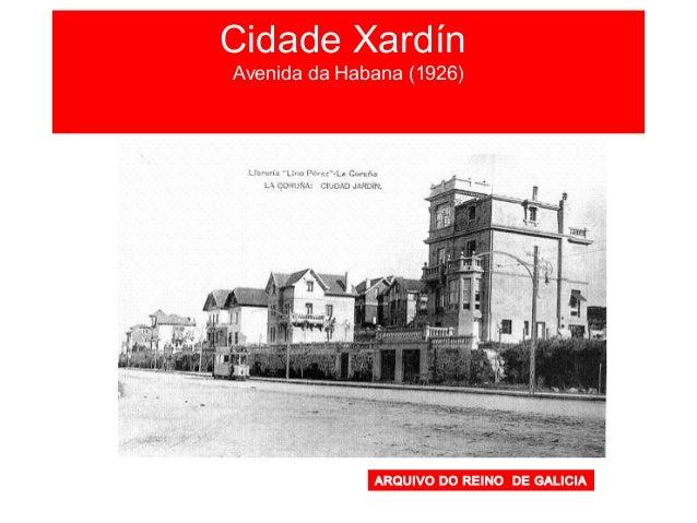 Plano da Coruña 1920 1 23 4 5 6 Estación de Ferrocarril 1. Cidade Vella 2. Pescadería 3. Ensanche 4. Atochas-A Torre 5. Ru...