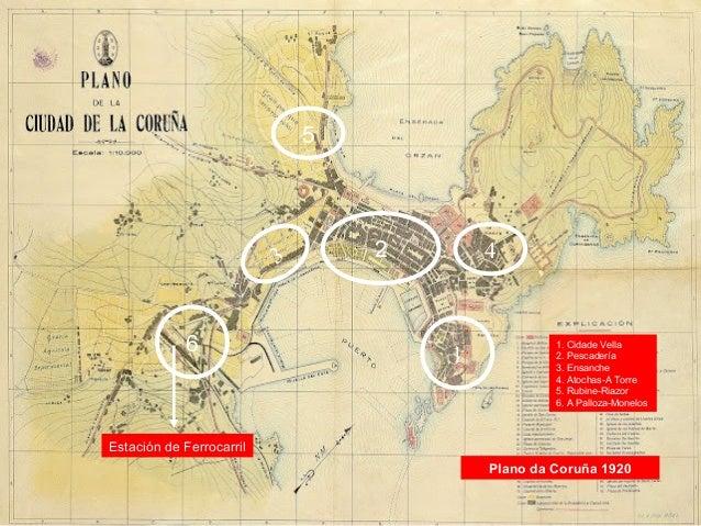O urbanismo no 1º franquismo (1939-1960) A súa práctica: as Casas Baratas Situación das Casas Baratas (Os Mallos-Sagrada F...