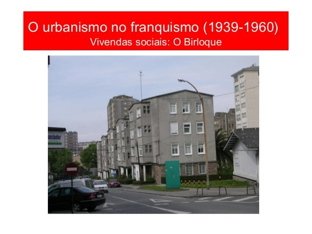 O urbanismo na posguerra (1939- 1955) A herdanza do plan Cort e o de 1948: a cidade escolar Fotografía de 1958 FOTO BLANCO...
