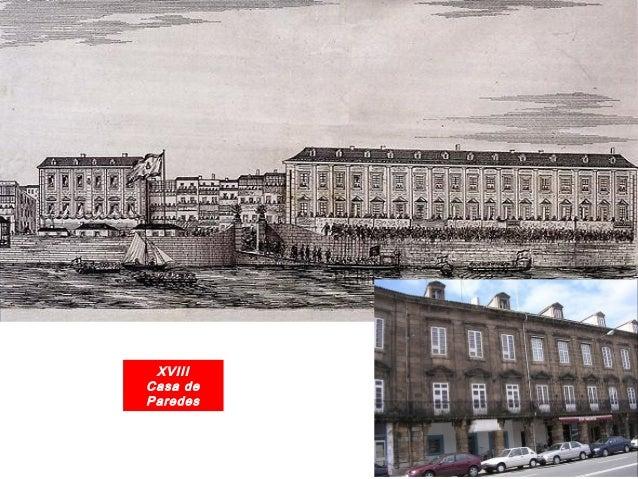 A industrialización de A Coruña Fábrica de Tabacos (Imaxe de 1930 e actual) FOTO BLANCO. La Coruña entre siglos