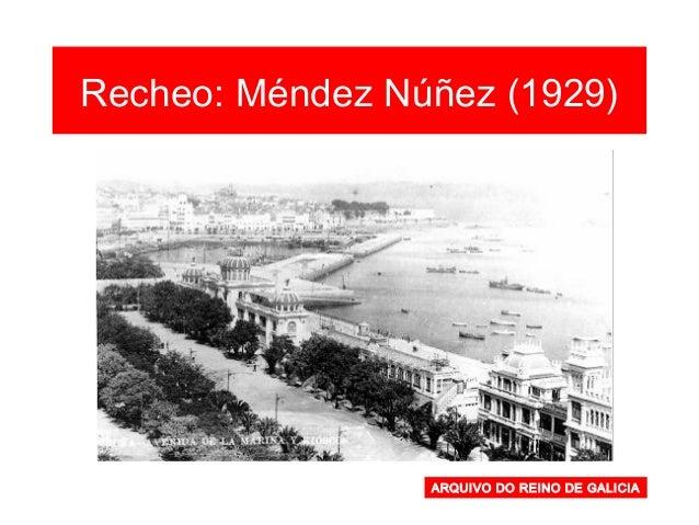 Barrio Atochas-Torre Fotografía de 1949 Observa a praza de Es- paña e o actual polí- gono de Zalaeta (como zona industrial...