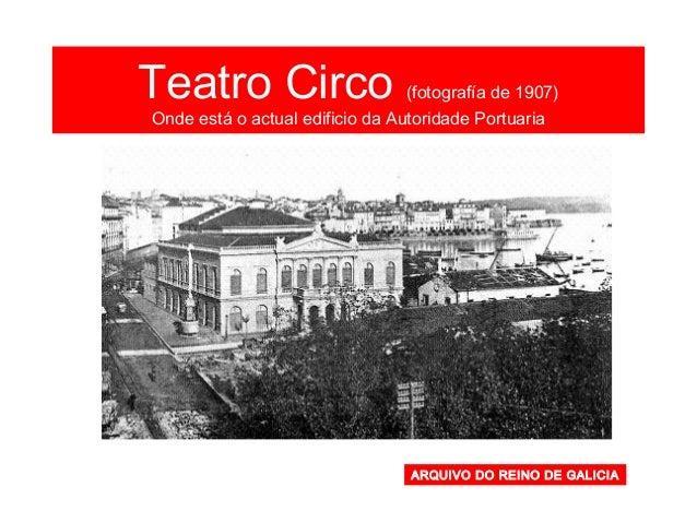 Campo da Leña (actual Praza de España) (1915) FOTO BLANCO. La Coruña entre siglos