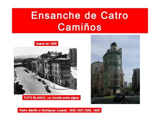 """Catro Camiños 1968 Fonte luminosa e """"Estrella Galicia"""" FOTO BLANCO. La Coruña entre siglos"""