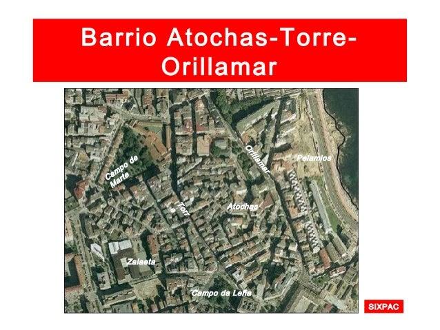 Torre-Atochas-Orillamar Remodelación dunha praza en Atocha Alta