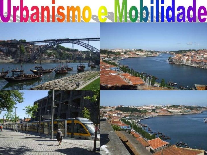 Urbanismo e Mobilidade<br />