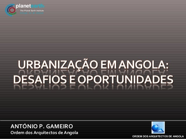 planetearth                    R    The Planet Earth Institute    Enough, for all, nforeverANTÓNIO P. GAMEIROOrdem dos Arq...