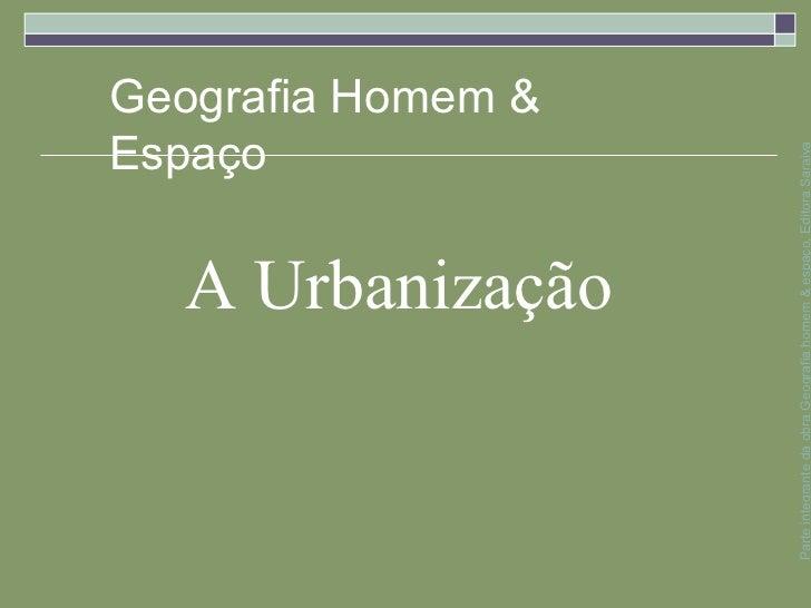 Espaço                                                            Geografia Homem &                                     A ...