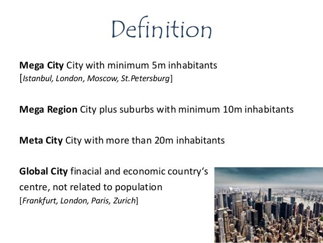 global city definition