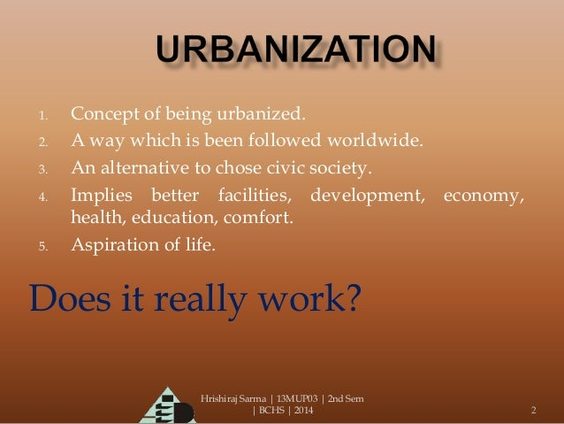 an analysis of the negative effects of urbanization on the society Analysis of industrialization, urbanization and land-use change of urbanization based on the analysis framework of dpser human effects upon the global.
