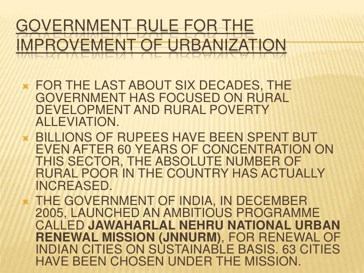 60 years of global urbanisation